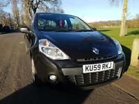 Renault Clio Black 1 lady owner low mileage for sale
