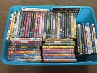 CHILDREN'S DVD'S 58 TITLES