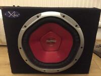 1200w Sony explode subwoofer with 1500w amp