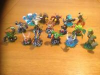 Various Skylanders as per the photos
