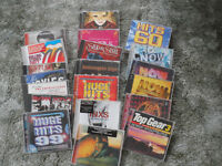 Over 70 CDs many compilations such as NOW ... perfect for background music or for Disco style events