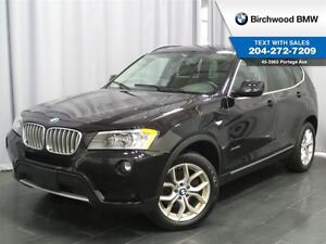 2013 BMW X3 28i Premium Package! No Accidents!