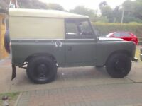 Land Rover Diesel 2A - Historic Vehicle - MOT - No tax required