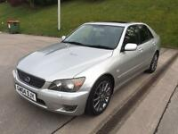 **LEXUS IS200 SE 2.0 PETROL 4 DOOR SALOON (2004 YEAR)IN IMMACULATE CONDITION**