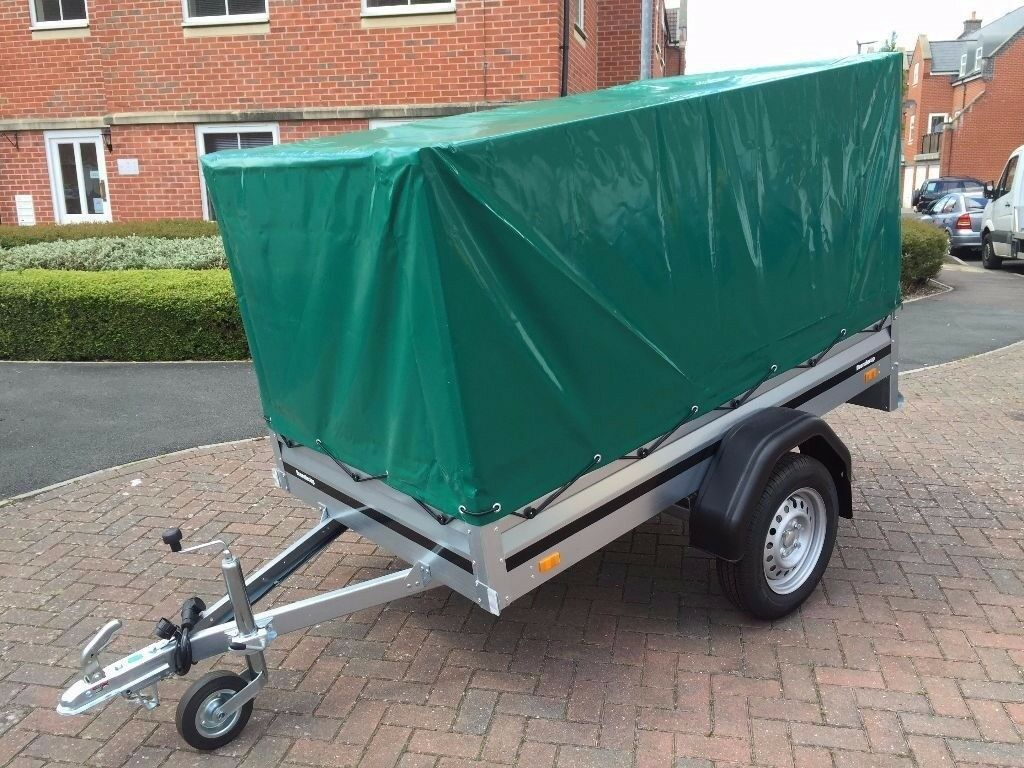 Brand new trailer Brenderup 1205 s with high 80 cm cover
