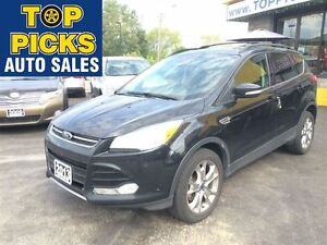 2013 Ford Escape SEL, LEATHER, SUNROOF, NAVIAGTION, AWD!