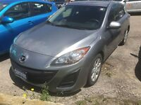 2011 Mazda MAZDA3 SPORT GX SPORT ALLOY WHEELS CLEAN CARPROOF