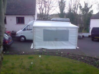 GH Awning with Strom Bars