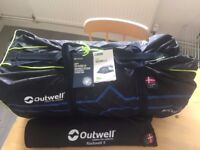 Outwell Rockwell 5 Person Tent & Carpet (Brand New)