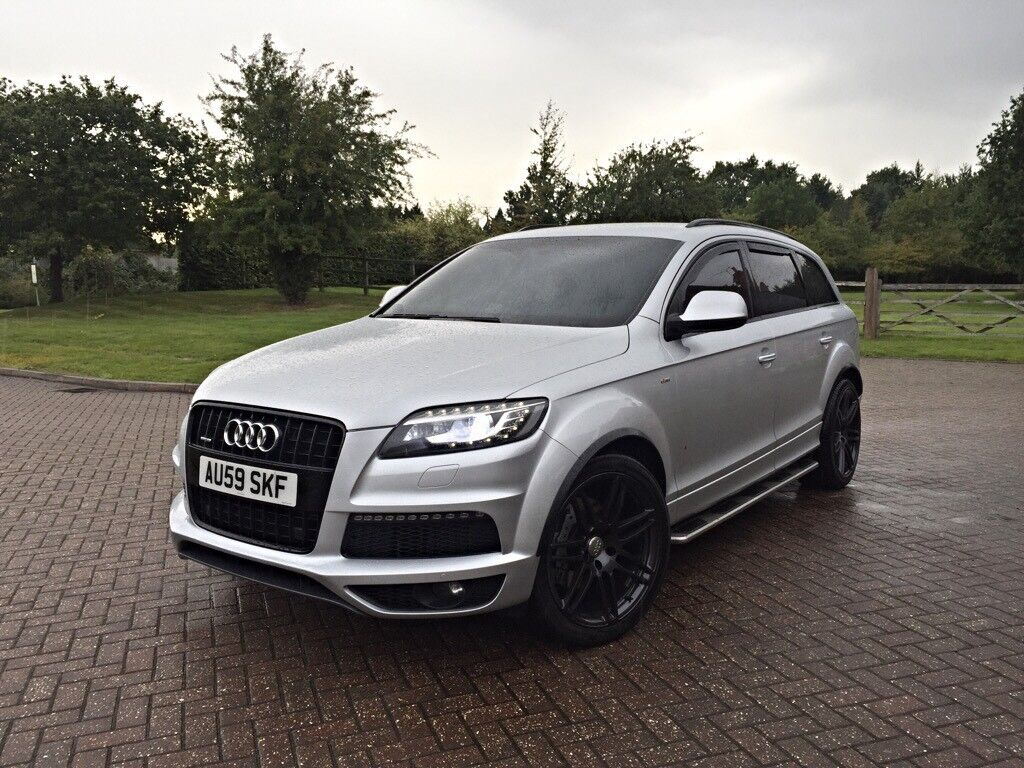2010 audi q7 s line 3 0 tdi quattro facelift fully loaded spec hpi clear fsh in windsor. Black Bedroom Furniture Sets. Home Design Ideas