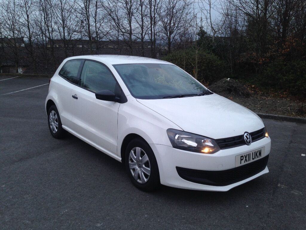 2011 volkswagen polo white in strabane county tyrone. Black Bedroom Furniture Sets. Home Design Ideas