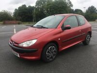 PEUGEOT 206 1.4 3 DOOR STARTS LOOKS RUNS AND DRIVES WELL