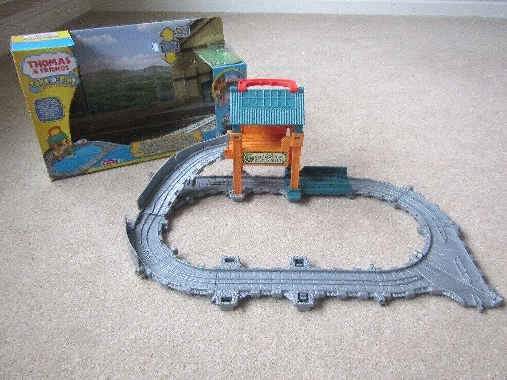Thomas & Friends Take & Play - Sodor Steamworks Repair Works