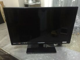 SOLD 18.5 inch BLAUPUNKT with freeview and dvd
