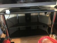 TVs stand glass