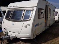 2008 Lunar Freelander 575EB 4 Berth Fixed Bed Caravan. Priced to Sell..