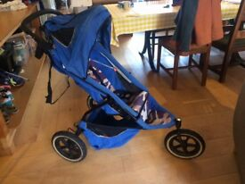 Phil and Teds Buggy 3 wheel pushchair