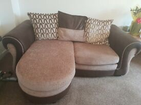 Dfs 2 seater sofa & large 2 seater sofa. Professionally cleaned. Smoke free house
