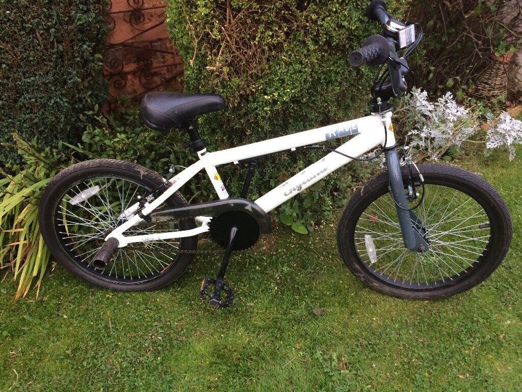 Childrens' Black and White Bike 18 inch wheels