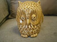 Vintage Sylvac Pottery Cutie Owl 5106 Money Box Collectable