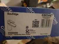 Grohe bau edge basin mixer tap.
