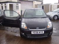 2008 FORD FIESTA ZETEC CLIMATE ,ALLOYS,AIR CON ,12 MONTH MOT