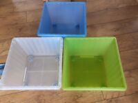3 x IKEA Storage Boxes