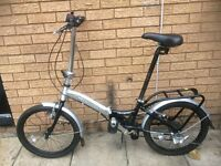 FOLDING BIKE APOLLO TRANSITION EXCELLENT CONDITION LIGHT WEIGHT RIDE AWAY