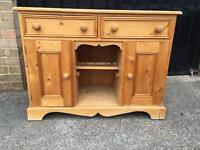 Solid pine sideboard (delivery available)6