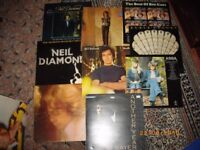 VINYL MIXED LOT...ABBA/BEE GEES/ELKIE BROOKS/NEIL DIAMOND ETC