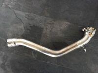 06-08 Triumph Daytona 675 centre / mid pipe
