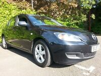 ★ FULL YRS MOT ★ LOW 69,000 mls ★ SEPT 2007 MAZDA 3 TS2 5dr 1.6 ★PERFECT WORKING ORDER