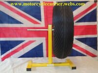 MOTORCYCLE WHEELS STAND/PIT/RACE TREE STAND a