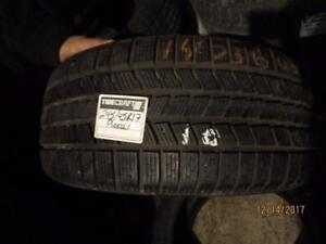 245/45R17 SINGLE ONLY USED PIRELLI WINTER TIRE