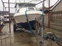 icelander 18 hull & trailer