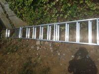 Aluminium Platform ladder new