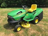 John Deere LR135 automatic Ride On Mower (Delivery Available)
