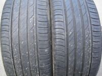 A pair of part worn tyres I have been keeping for awhile without needing them Bridgestone 225/40R18