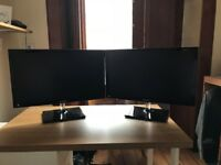 Samsung HD 1080p LED Monitors (24inch). Excellent Condition/Like New.