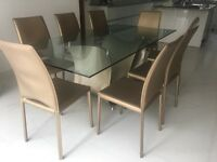 Bargain Price: Dining Table and 8 Chairs.