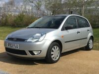 VERY WELL KEPT FORD FIESTA 32k miles FSH no advisaries £2099 ONO