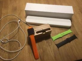 Apple Sport Watch 42mm mint Lots of extras