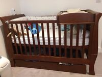 Mia Cotbed Package - Walnut