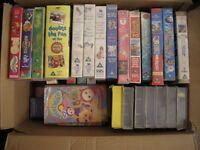 VHS Tapes of Children's TV programs