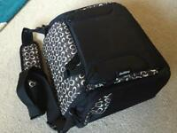 HOPPOP changing bag/dining booster seat as new