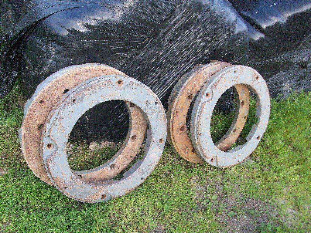 Massey Ferguson 65 Wheels : Massey ferguson rear wheel weights in liskeard
