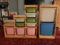 Tröfast childrens storage Ikea