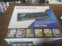 HI EVERY ONE I AM SELLING MY KENWOOD CAR CD PLAYER ITS STILL BOXED AND ONLY 2 MONTHS OLD