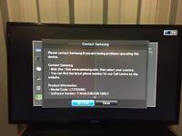 """Samsung 27"""" curved full hd Freeview led tv Lt27d590c"""