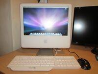 "APPLE IMAC G5 - 2004, 17"", 160GB HDD, 1.5GB RAM and CD-DVDRW"
